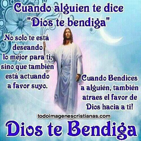 imagenes cristianas dios te bendiga