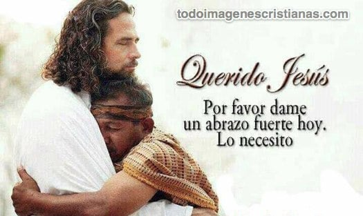 imagenes cristianas abrazo de jesus