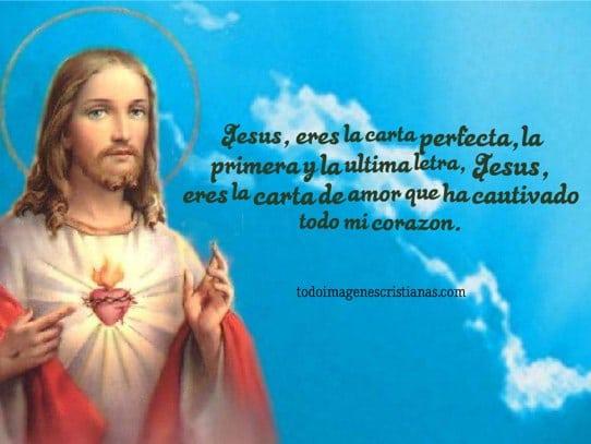 imagenes cristianas con frases jesus