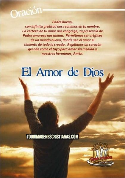 imagenes cristianas con oracion a dios