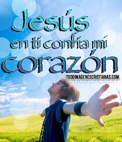 imagenes cristianas de confiar en jesus