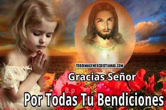 imagenes cristianas de gracias señor