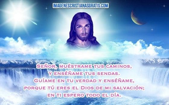 imagenes de jesus con frases cristianas