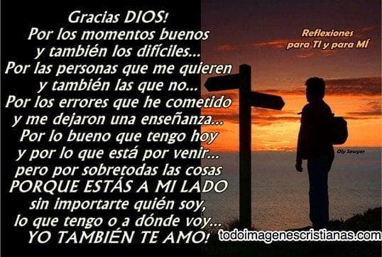 Imagenes Cristianas Con Frases De Gracias Dios