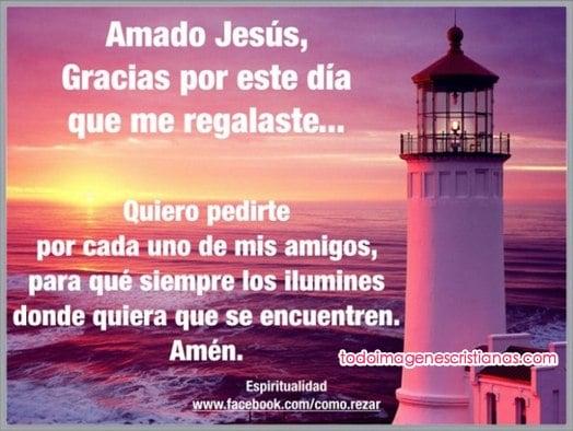 imagenes cristianas gracias jesus por este dia