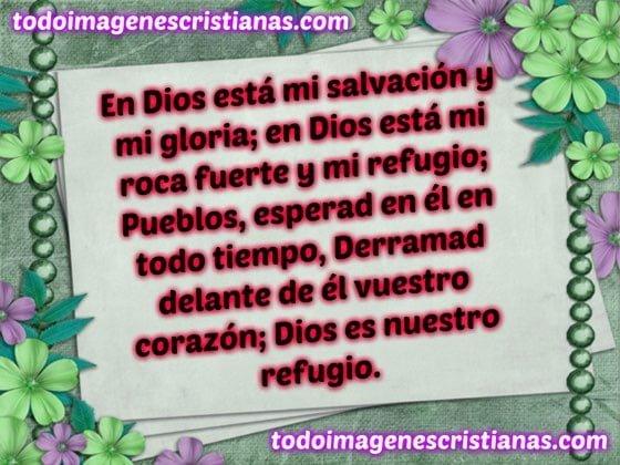 imagenes cristianas en dios esta mi salvacion